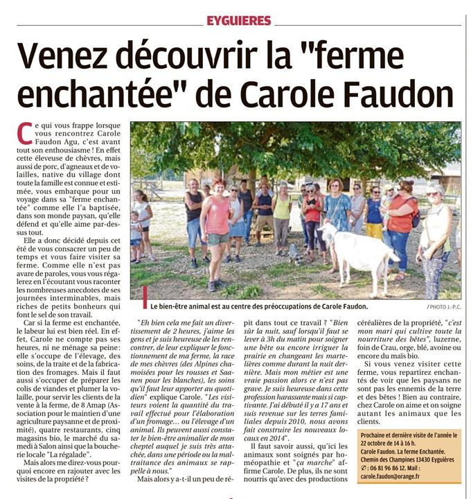 Carole article 15 10 19 1